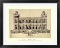 Framed Facade d'un Palais, (The Vatican Collection)