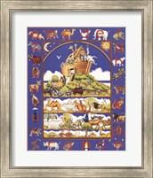 Framed Noah's Ark Alphabet