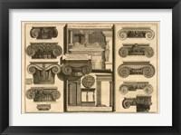 Framed Della Magnificienza ed Architettura de Romani, (The Vatican Collection)