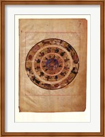 Framed Astronomy and Astrology Tables, (The Vatican Collection)
