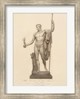 Framed Man with Ball and Staff, (The Vatican Collection)