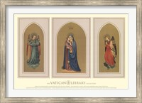 Framed Madonna and Child Triptych, (The Vatican Collection)