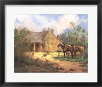 Framed Western Home