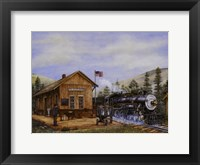 Framed Pine Valley Station