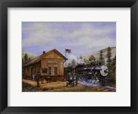 Framed Pine Valley Station