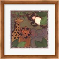 Framed Jungle Friends