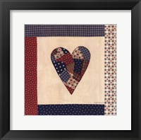 Framed American Patchwork
