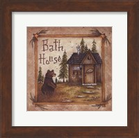 Framed Bath House