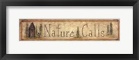Framed Nature Calls