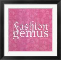 Framed Fashion Genius