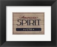 Framed American Spirit