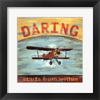 Framed Daring
