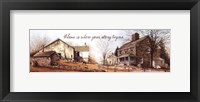 Your Story Framed Print