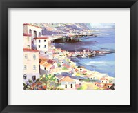 Framed Mediterranean Harbor