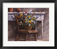 Framed Garden Boquet