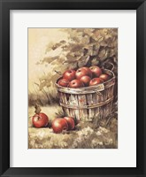 Framed Barrel Apples