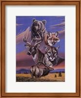Framed Caribou Montage