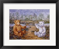 Framed Bubble Bears