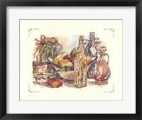 Framed Spiced Oil and Vinegar Collection II