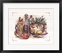 Framed Spiced Oil and Vinegar Collection I