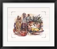Spiced Oil and Vinegar Collection I Framed Print