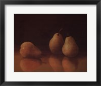 Framed Pear Still Life