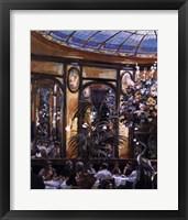 Framed Restaurant View