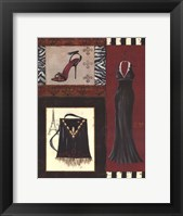 Fashion Collage II - mini Framed Print