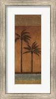 Framed Golden Palm II - mini