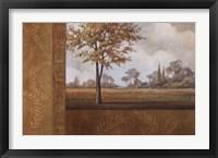 Framed Golden Autumn I