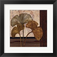 Framed Urban Ginkgo II - mini