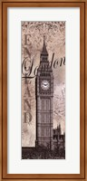 Framed Big Ben