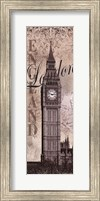 Framed Big Ben