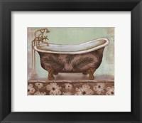 Framed Tropical Bath I - mini