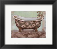 Tropical Bath II - mini Framed Print