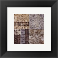 Structured Pattern II - petite Framed Print