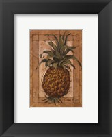 Pineapple Pizzazz Framed Print