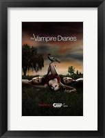 Framed Vampire Diaries - style C