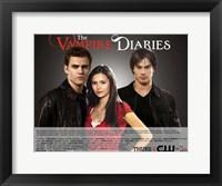 Framed Vampire Diaries - style B