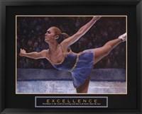 Framed Excellence - Ice Skater