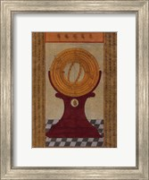 Framed Equatorial, (The Vatican Collection)
