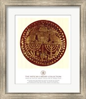 Framed Gold Lions, (The Vatican Collection)