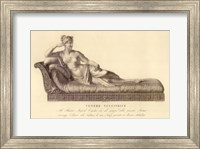 Framed Reclining Lady (recto), The Vatican Collection