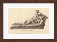 Framed Reclining Lady (verso), The Vatican Collection