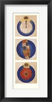 Abstract Circles II, (The Vatican Collection) Framed Print