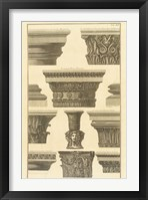 Framed Vari Capitelli, (The Vatican Collection)