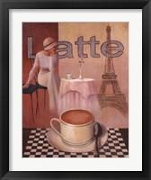 Framed Latte - Paris