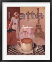 Framed Latte - Paris