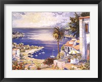Framed Mediterranean Sunrise