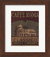 Framed Coffee Blend Label I
